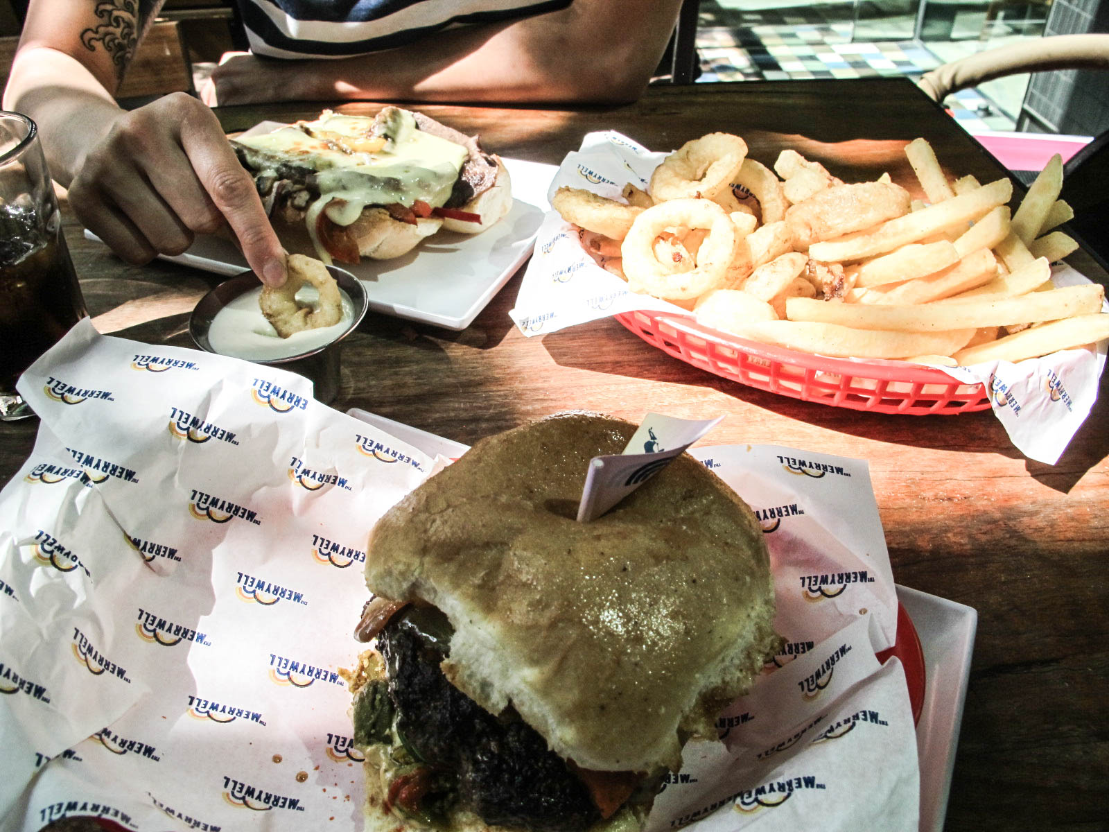 Not Another Burger Review – The Merrywell