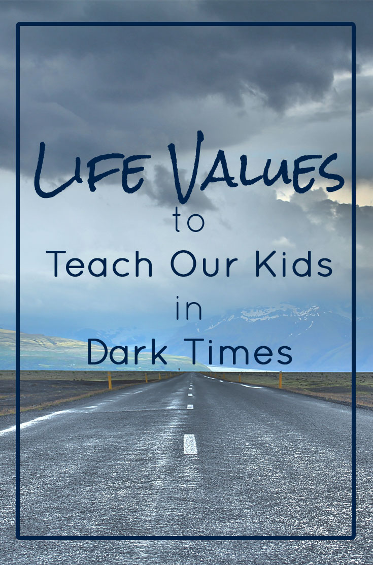 Teaching kids good values
