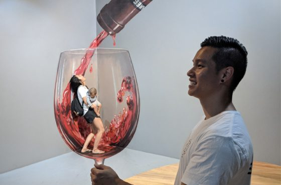 ArtVo Melbourne With Kids: An Immersive 3D Artwork Gallery