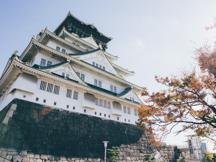 osaka-attractions-castle