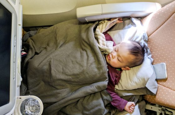 The BEST Toddler Bed for Plane Travel & 7 Other Sleep Tips