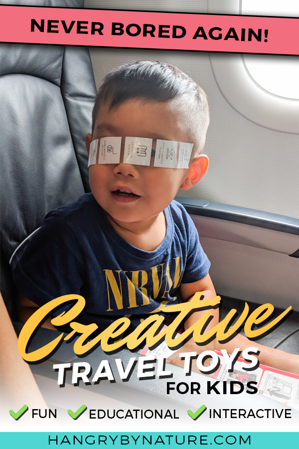10 Genius Travel Toys For Toddlers To Save Your Sanity Hangry By Nature